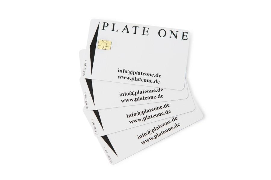 Plate One Chipkarten